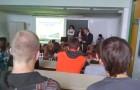 9. razred na obisku srednje šole v Brežicah