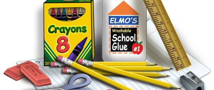 Seznam šolskih potrebščin za novo šolsko leto