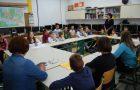 Zasedanje otroškega parlamenta in šolske skupnosti
