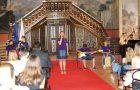 Sprejem župana najboljših učencev s kulturnim programom OŠ Globoko